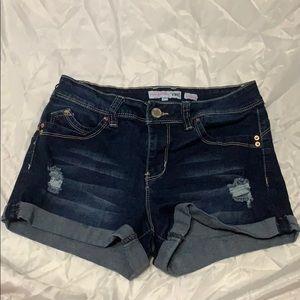 YMI Mid-rise Shorts